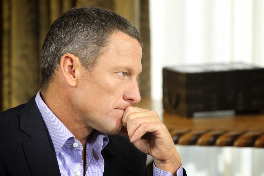Armstrong admitted his use of performance enhancing substances in an interview with Oprah Winfrey in 2013