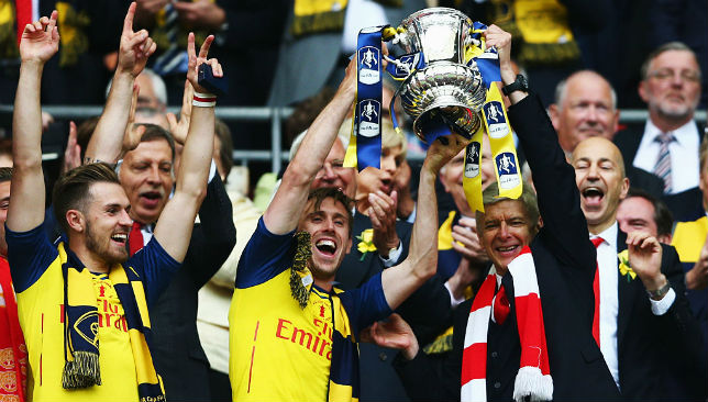 Arsene Wenger won seven FA Cups at Arsenal.