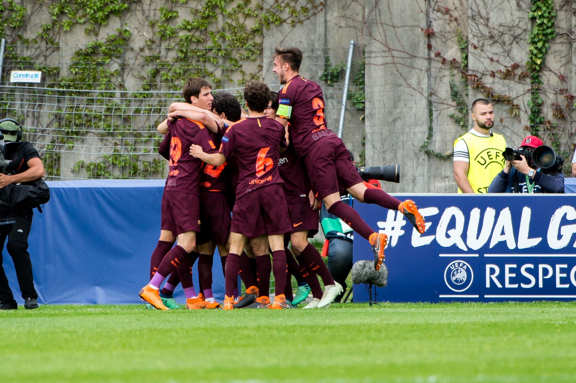Barca beat Chelsea for UEFA Youth League