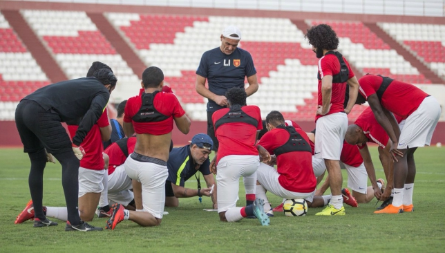 diego maradona Diego maradona confirms he is staying on as fujairah manager in crazy interview after cup last-16 winwide-eyed facial expressions reminiscent of famous celebrations after scoring against greece during 1994 world cup.