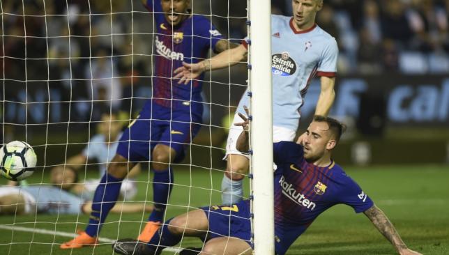 Celta-Barcelona 2-2