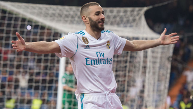 Benzema of Real Madrid