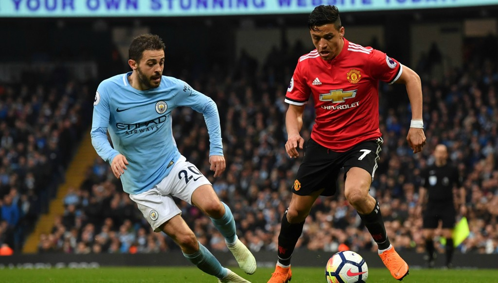 Ander Herrera denies intentionally spitting on Manchester City crest
