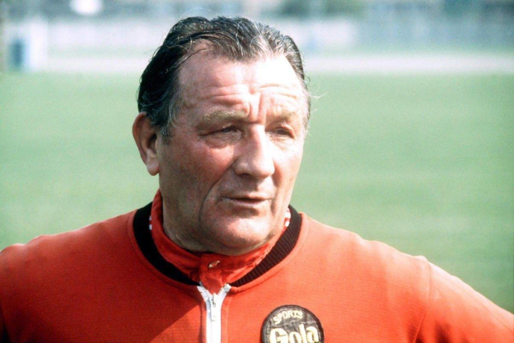 Bob Paisley won the European Cup three times with Liverpool in 1977, 1978 and 1981.