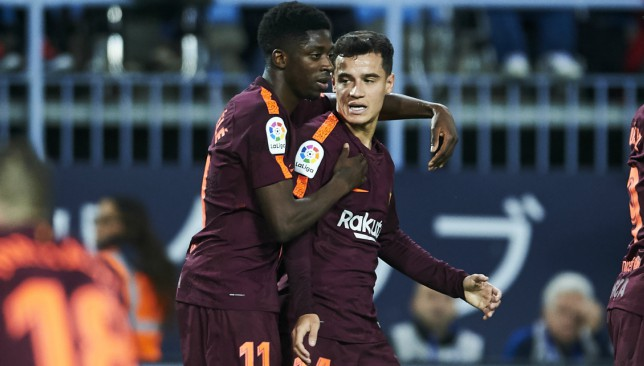 Dembele and Coutinho