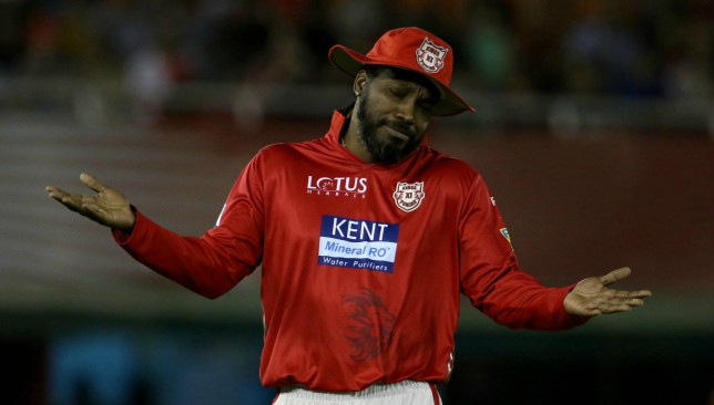 Image result for chris gayle injury ipl