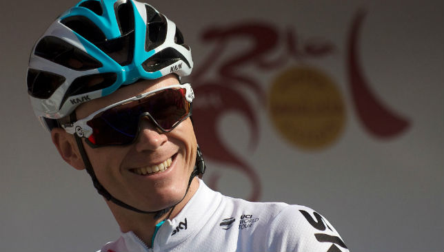 Froome to skipper Team Sky at Giro d'Italia