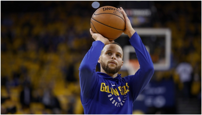 Curry probable to finally return in Game 2