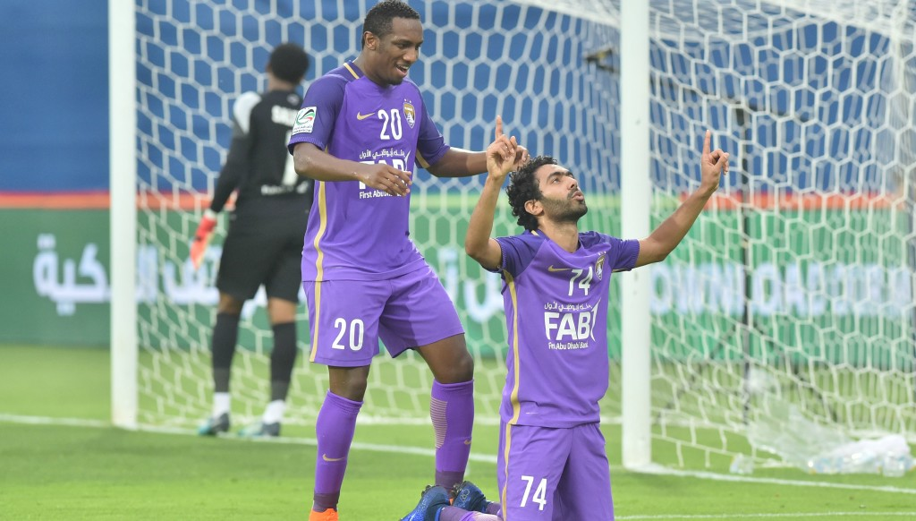 Hussein El Shahat had a hand in two of AL Ain's goals.