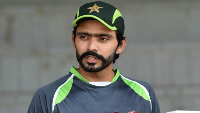 Pakistan batsman Fawad Alam.