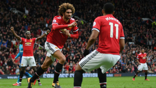 Fellaini has penned a new two-year deal with United.