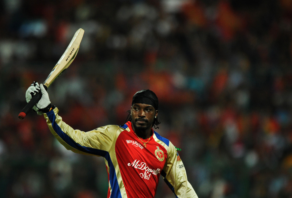 Gayle's six-hitting abilities are unparalleled.