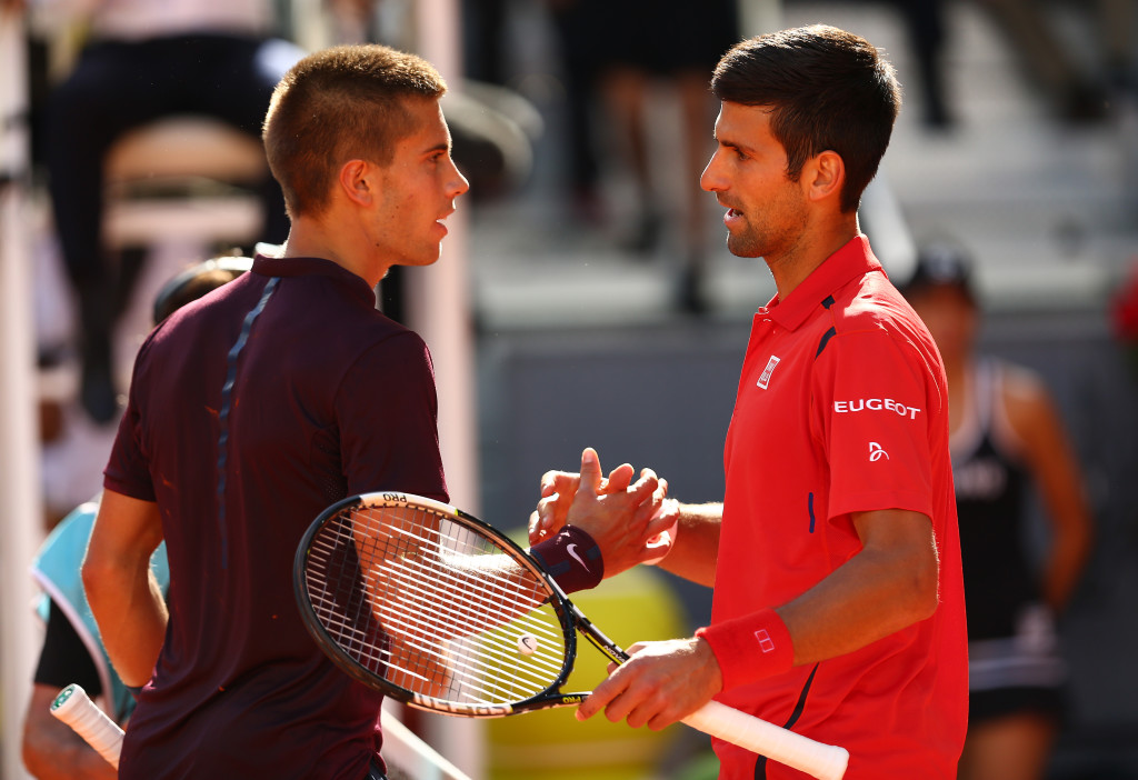 Djokovic digs deep to beat Coric