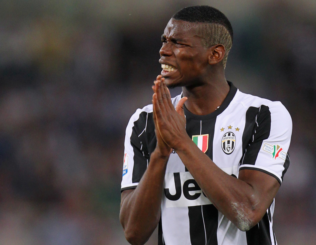 Better call Paul:Pogba made a name for himself at Juventus.