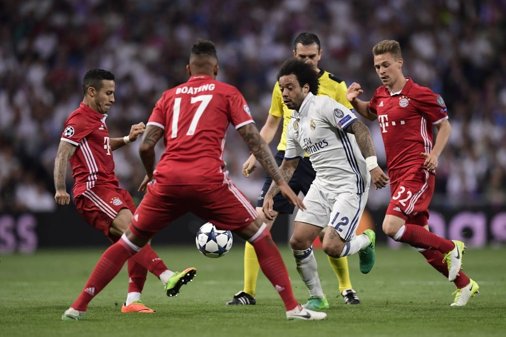 Madrid and Bayern will be meeting for a second successive year.