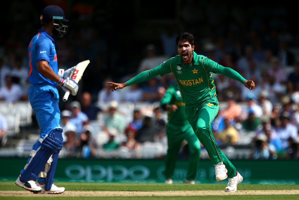 Fans have been deprived of the chance to watch Kohli take on Amir.