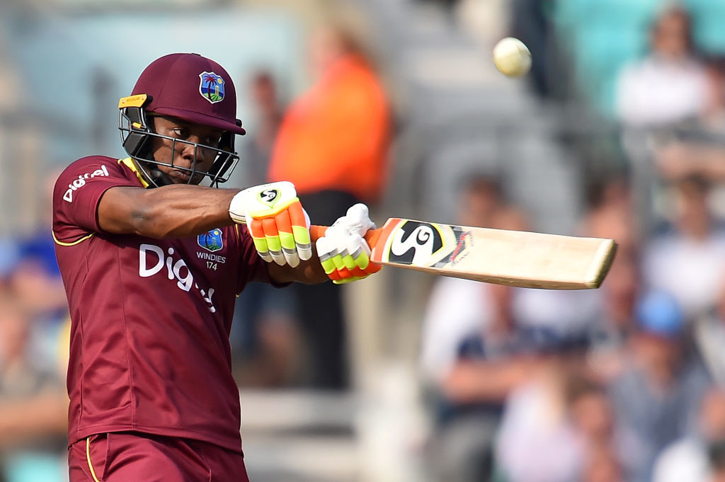 The West Indies batsman is one of the cleanest hitters of the cricket ball.