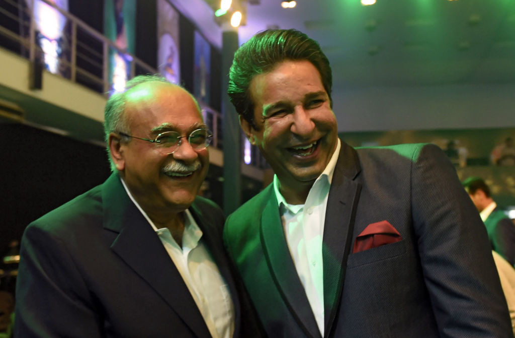 Sethi (L) has put the ball in the BCCI's court.