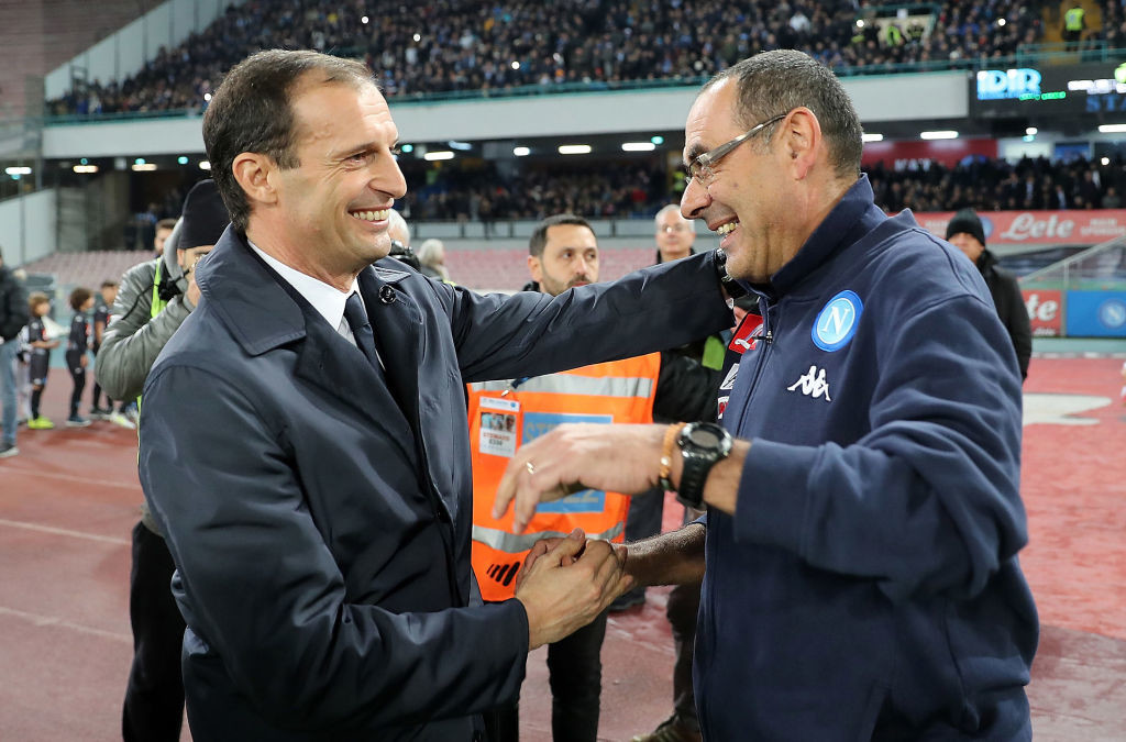 Juventus coach Allegri slams Napoli defeat: bad game for both teams