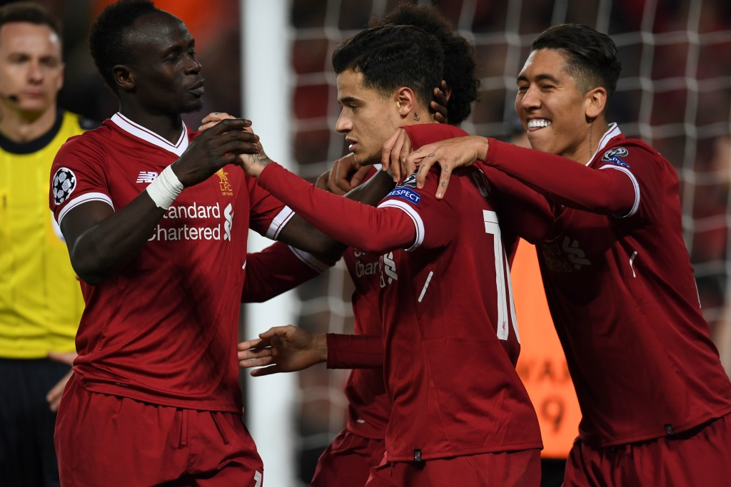 Philippe Coutinho, Mohamed Salah, Sadio Mane and Roberto Firmino all started against Spartak Moscow