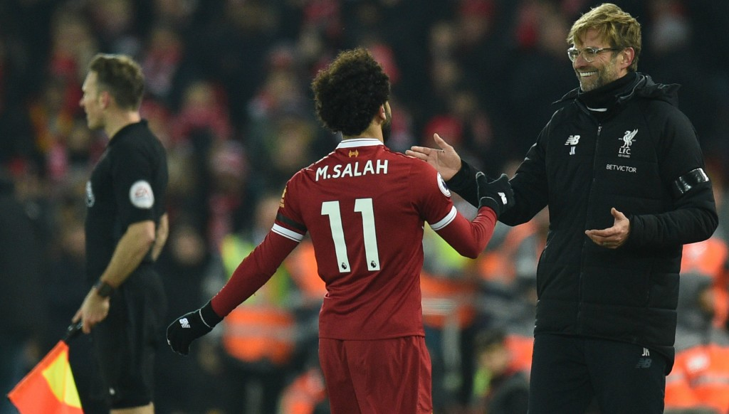 Jurgen Klopp was full of praise for Mo Salah.