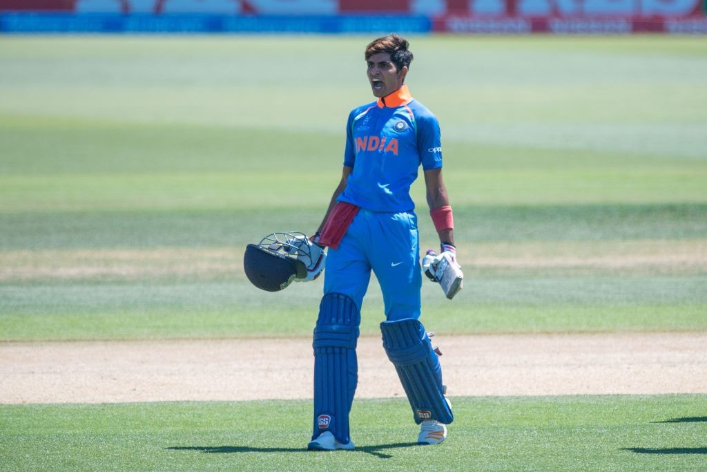 Gill was the player of the tournament in the recent ICC U19 World Cup.