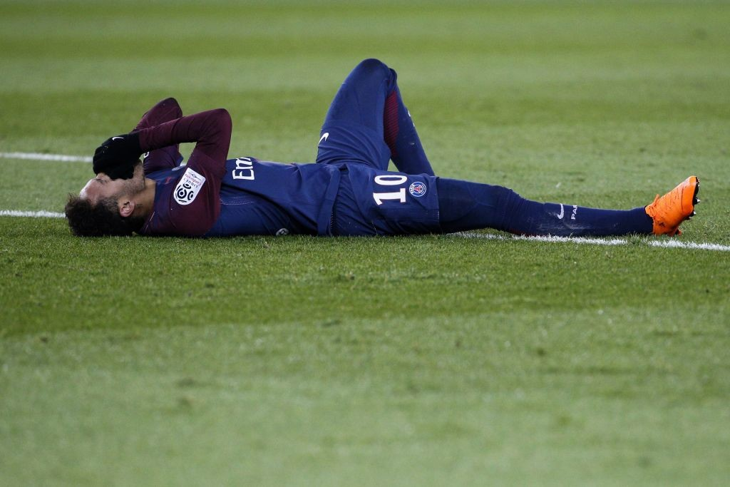 Neymar has been out of action since injuring his ankle in February