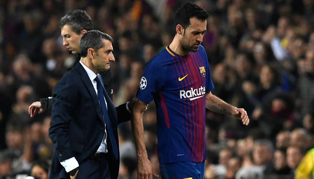 Barcelona has doubts about Messi, Busquets against Roma