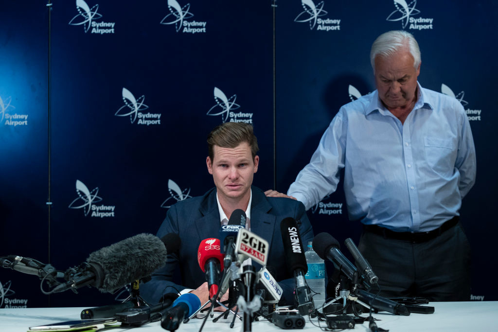 The ICC was criticised for only handing a one-match ban to Steve Smith.