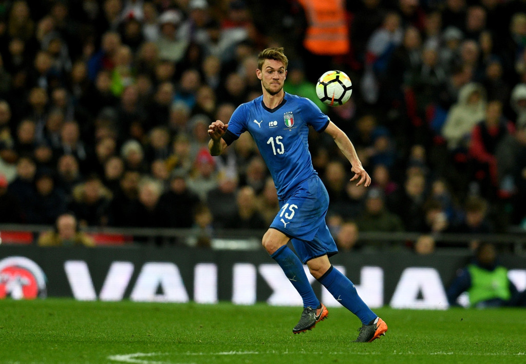 Daniele Rugani started both of Italy's friendlies in March.