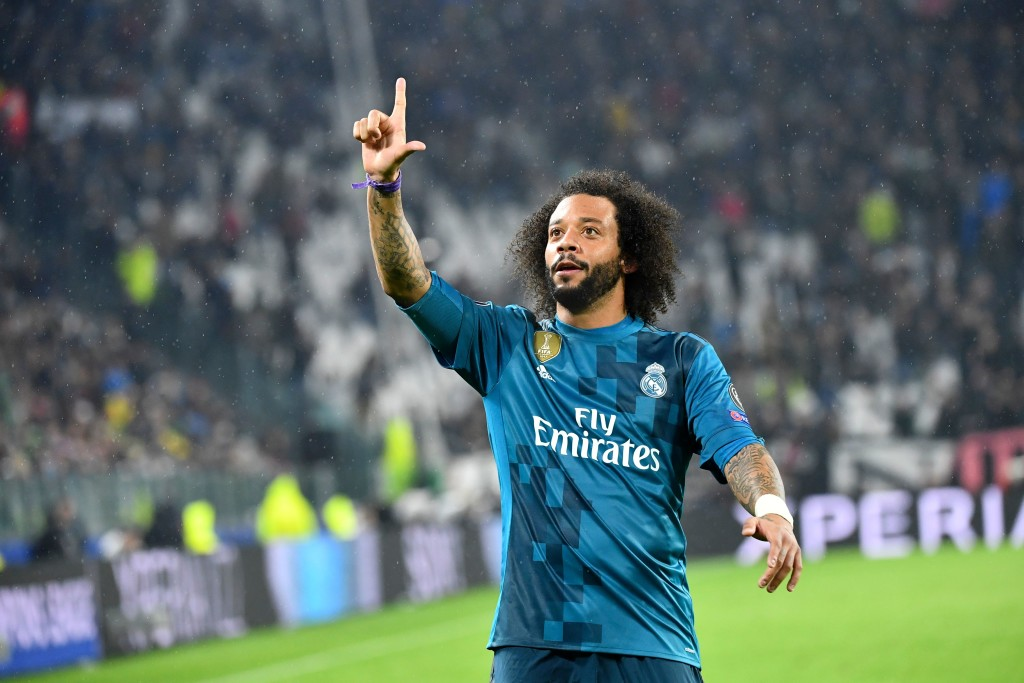 Marcelo rounded off a great night for Real Madrid with their third goal
