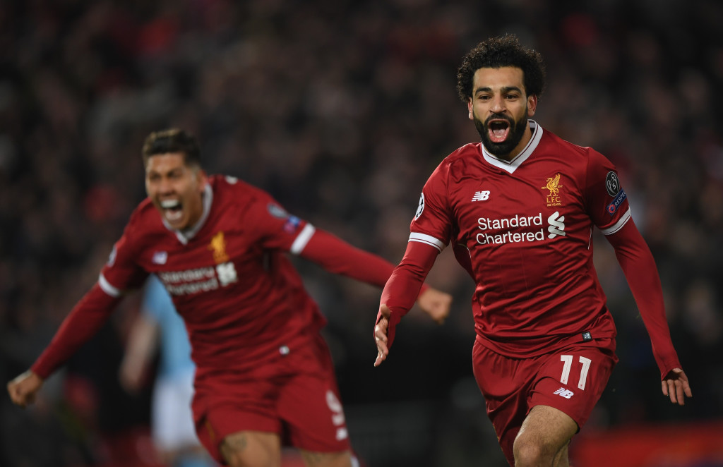 Mohamed Salah grabbed one goal and an assist against Manchester City