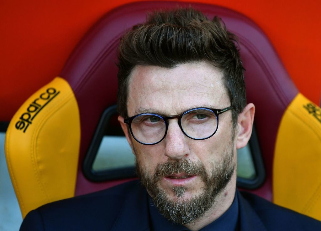 Roma coach Di Francesco praised for invention after ousting Barca
