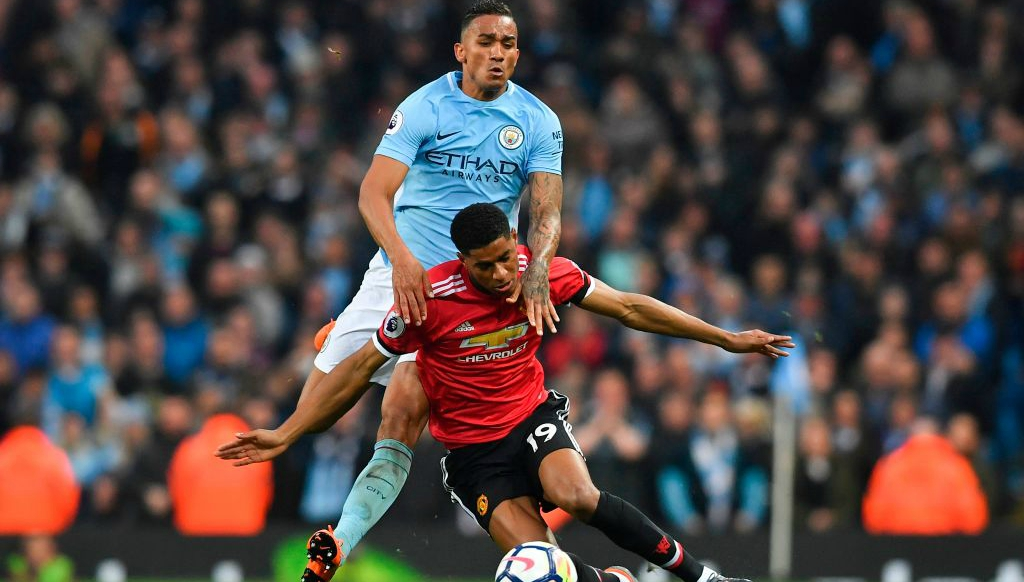 Man City fullback Danilo urges calm after derby defeat