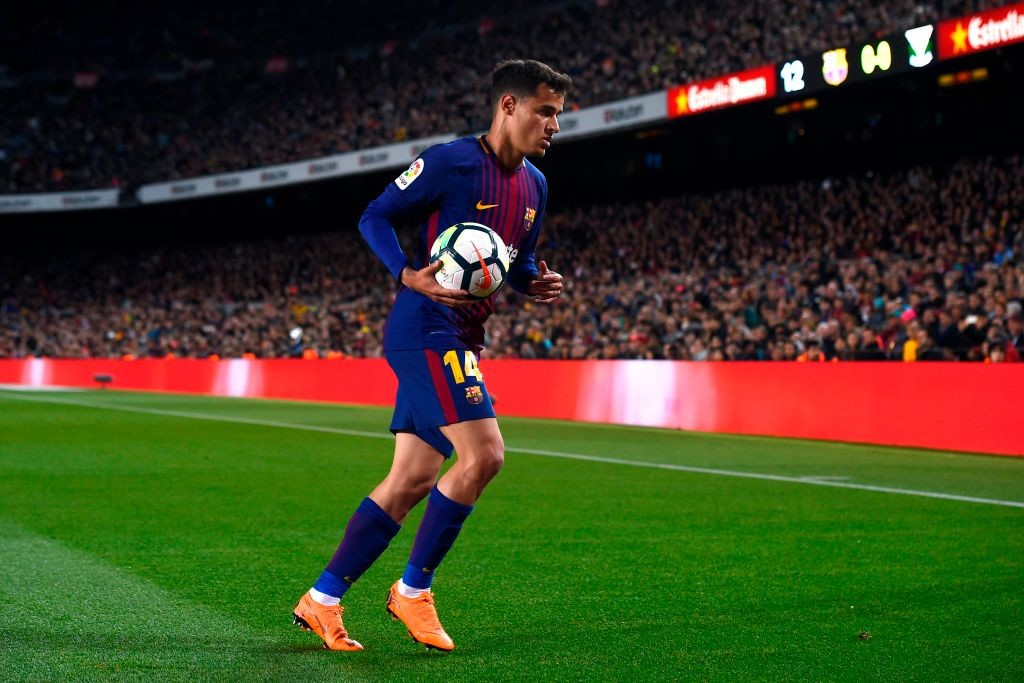 Coutinho is certain to start against Valencia.
