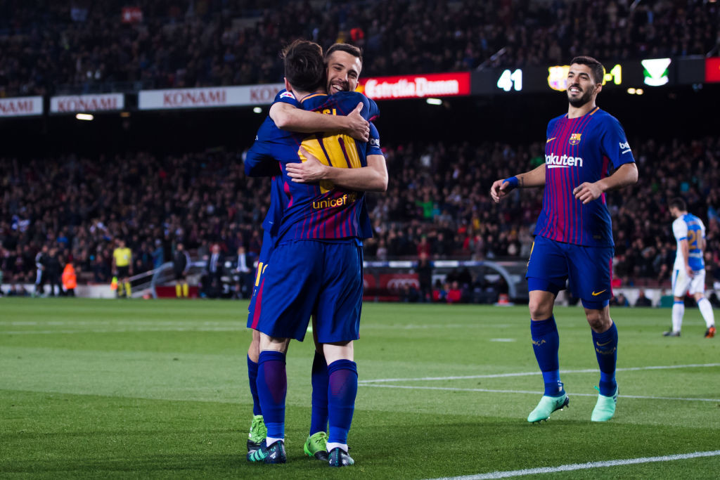 Barcelona are unbeaten since 38 games in La Liga.