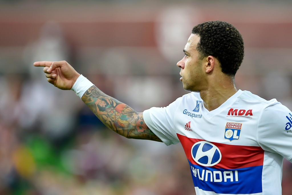 Memphis Depay grabbed a goal and four assists for Lyon
