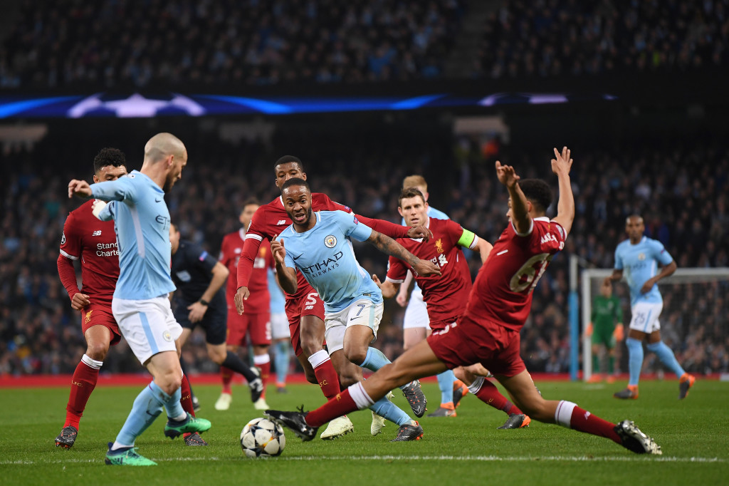 Manchester City have run away with the Premier League, but came unstuck against Liverpool in the Champions League