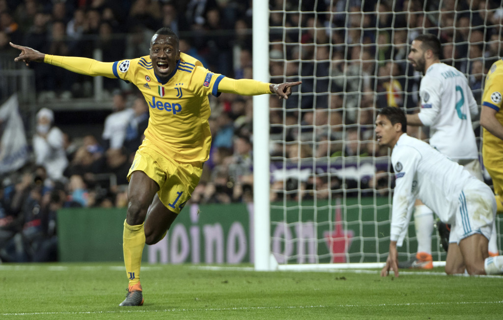 Blaise Matuidi was excellent for Juventus against Real Madrid