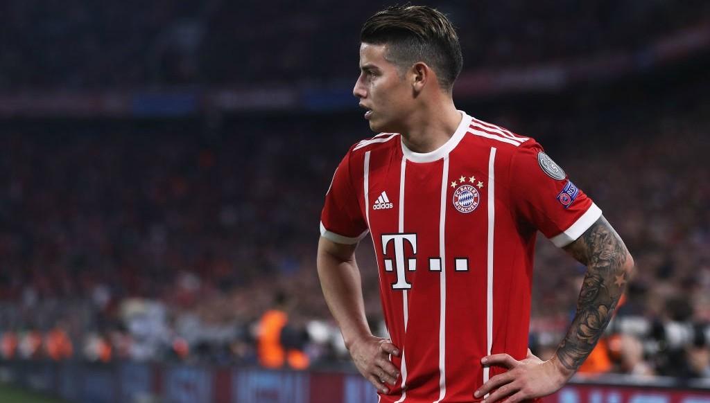 Bayern Munich star James Rodriguez