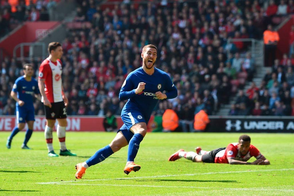 Eden Hazard scored the equaliser.