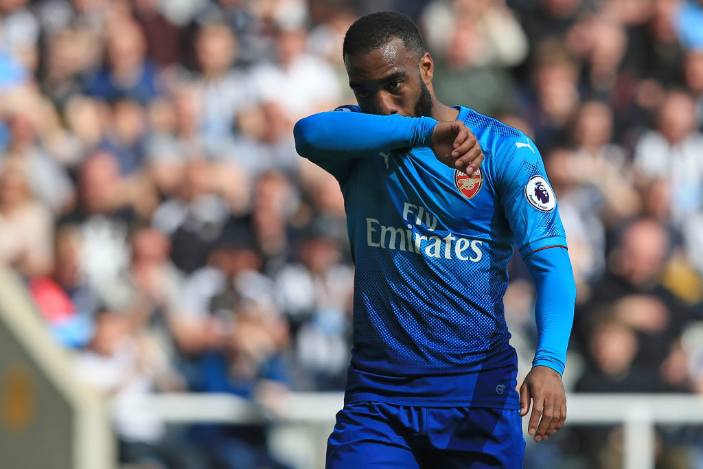 Arsenal fell to a 2-1 defeat despite Lacazette giving them the lead.