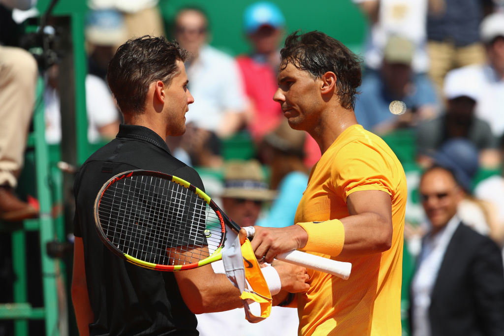 Nadal will now face Dimitrov after his Thiem thrashing.