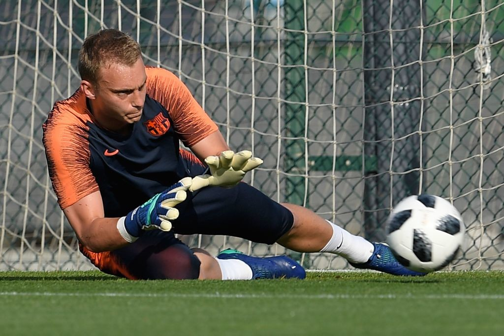 Barcelona's Dutch goalkeeper Jasper Cillessen