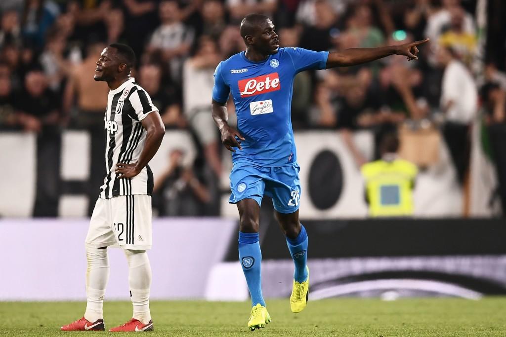 Kalidou Koulibaly netted the winning goal for Napoli against Juventus.