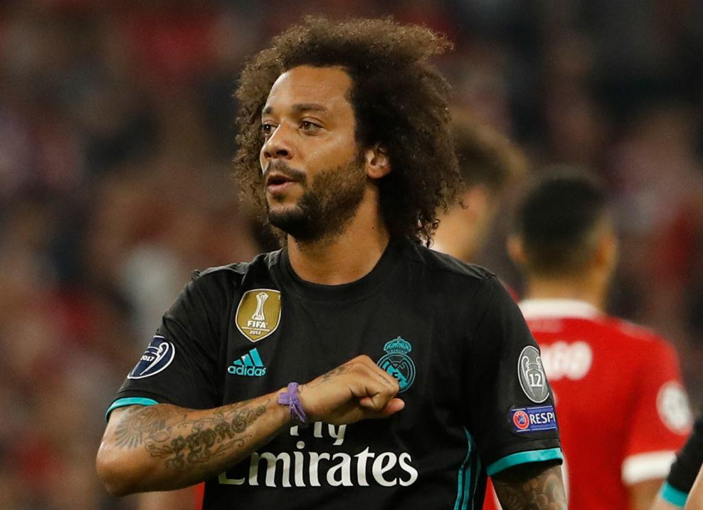Marcelo celebrates his equaliser