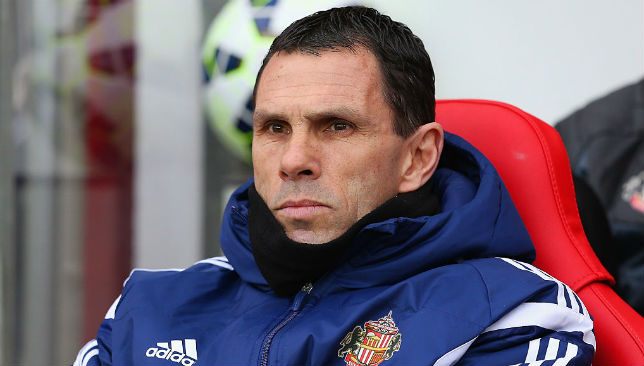 Poyet was Sunderland manager from 2013-15.