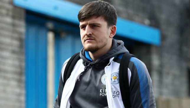 In frame: Leicester's Harry Maguire