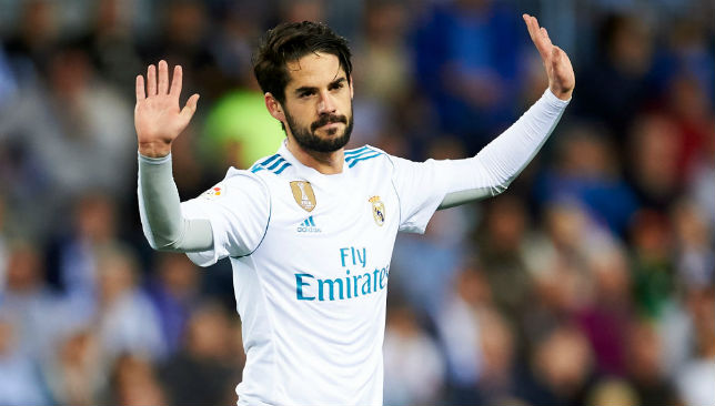 If Isco plays, he would be facing another former club.