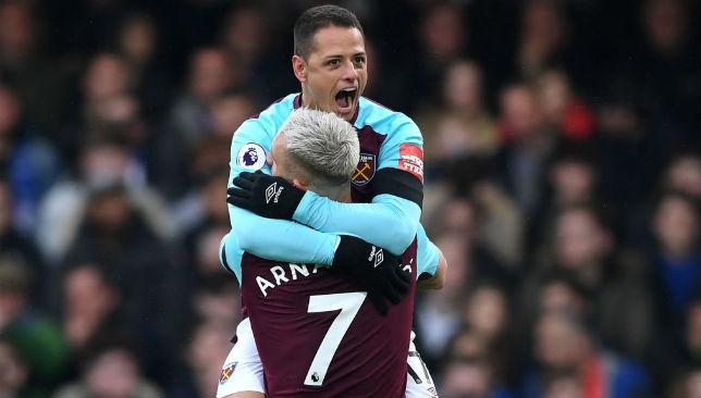 Javier Hernandez of West Ham United